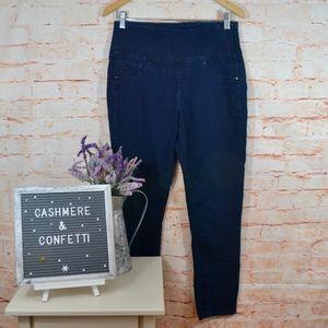 Spanx Pull Up Ankle Crop Jeans Medium 6 / 8 B3